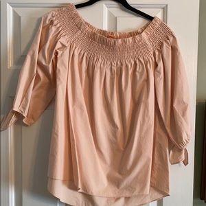 Dobe off shoulder blouse